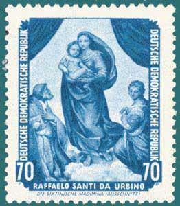 DDR (1955) Raphael. Scott # 277