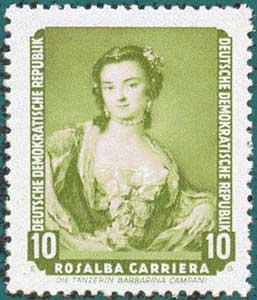 DDR (1957) Carriera. Scott # 356