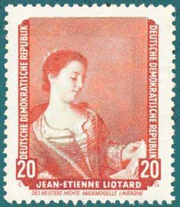 DDR (1957) Liotard. Scott # 441