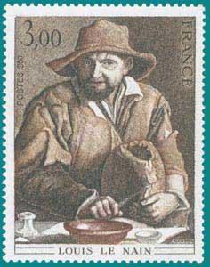 1980-Sc 1692-Louis le Nain (1593-1648), 'Peasant'