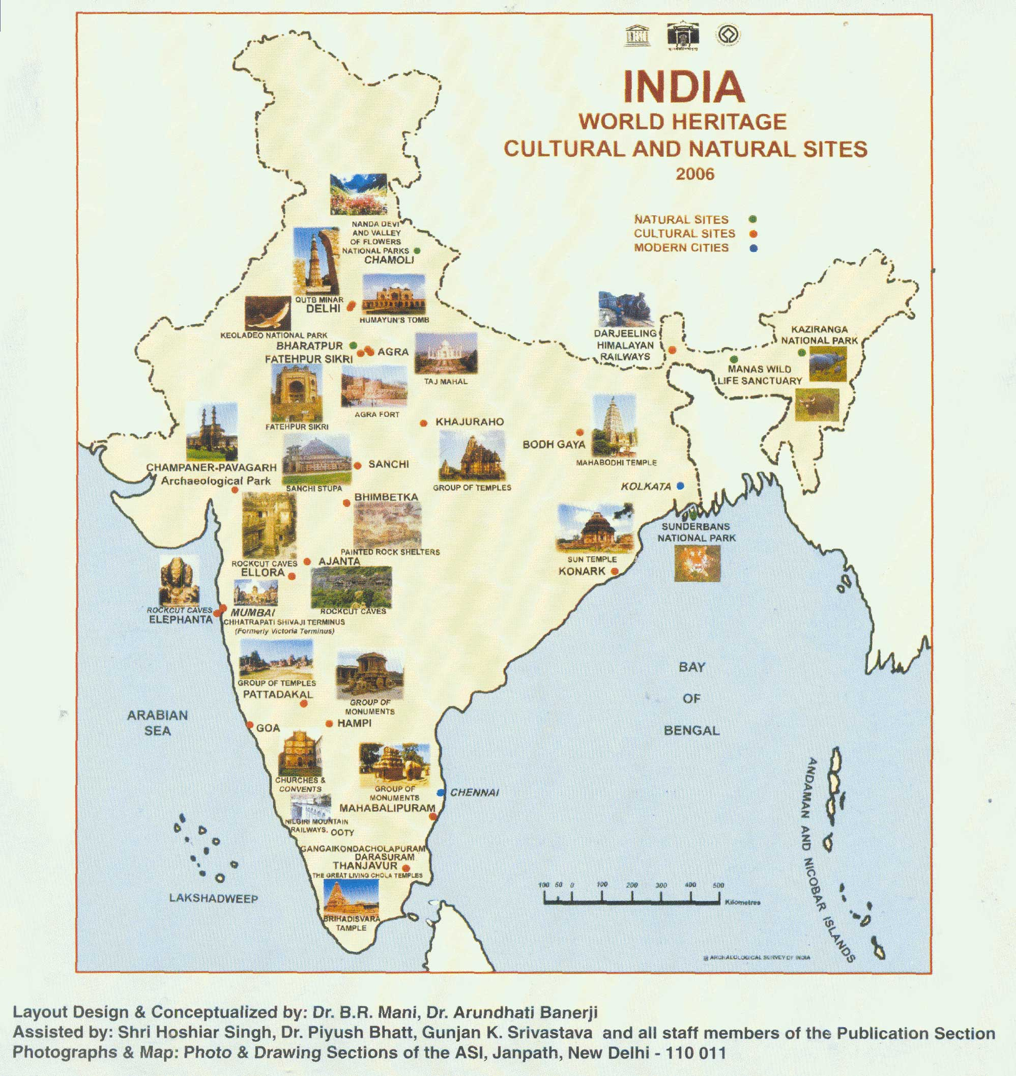 World heritage monuments of india the cultural sites gumiabroncs Image collections