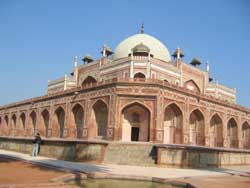 Humayun Tomb - South-West Face (Ground level)