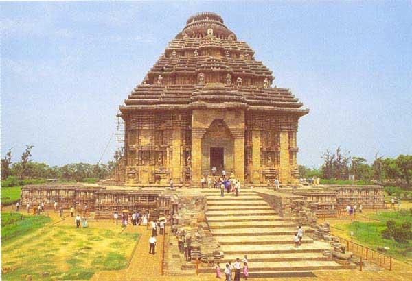 Temple Images Orissa Sun Temple Konark Orissa