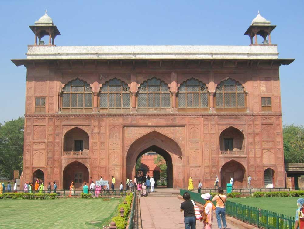 Image result for Naubat Khana- red fort delhi